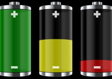 e-papieros bateria