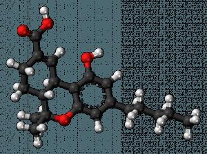 THC-11-oic-acid-3D-balls