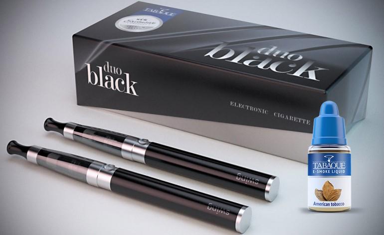 duo black e-papieros
