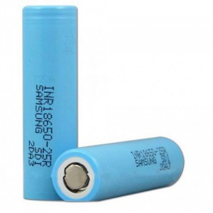 Samsung INR18650 25R 2500mAh Battery-500x500