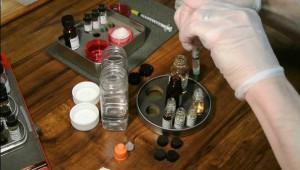 przygotowywanie liquidu do e-papierosa