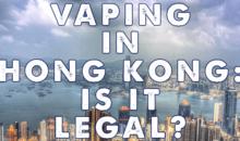 Hong Kong zakazuje sprzedaży e-papierosów